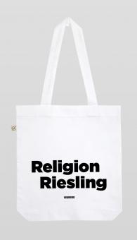 Goldrichs Religion Riesling - Tragetasche - Weiß