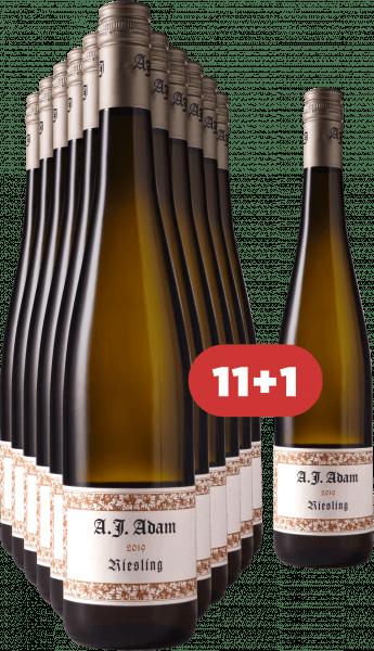 A.J. Adam 11+1 Riesling trocken 2019