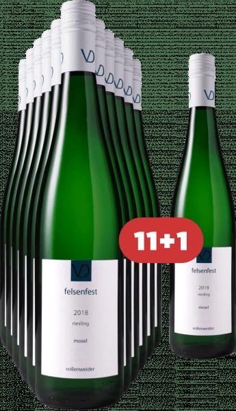Vollenweider 11+1 Felsenfest Riesling trocken 2018