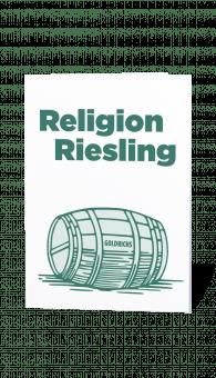 Goldrichs Wein Gutschein – Motiv Religion Riesling – zum Ausdrucken