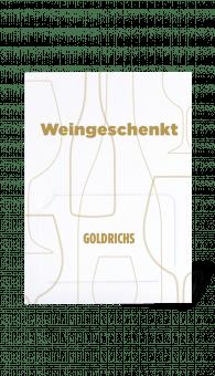 Goldrichs Wein Gutschein – Motiv Gold - Geschenkkarte